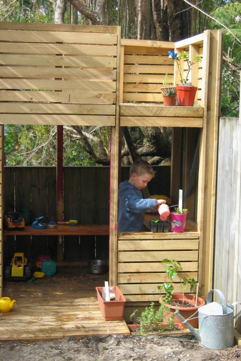 Diy diy playhouse pallets wooden pdf bird house plans for Outdoor playhouse designs