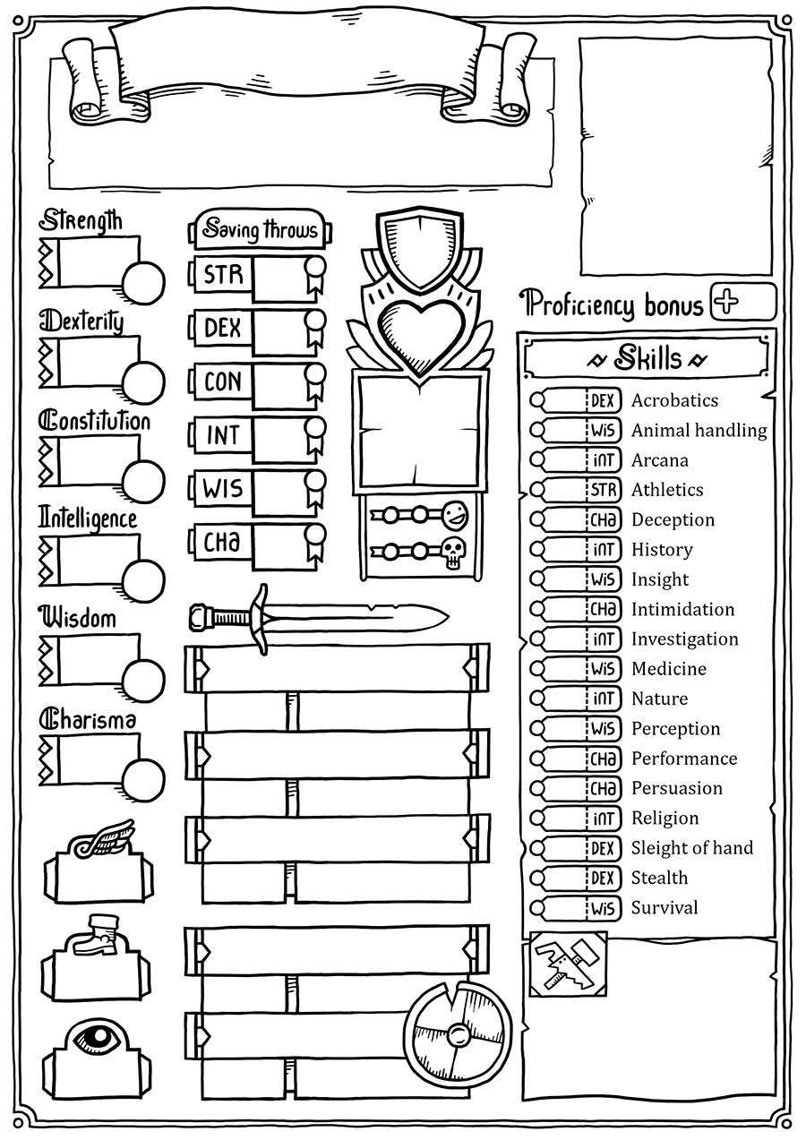 It's just an image of Crazy Dnd 5e Printable Character Sheet