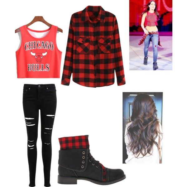 My brie bella outfut by raynesolomon on polyvore featuring Nikki bella fashion style