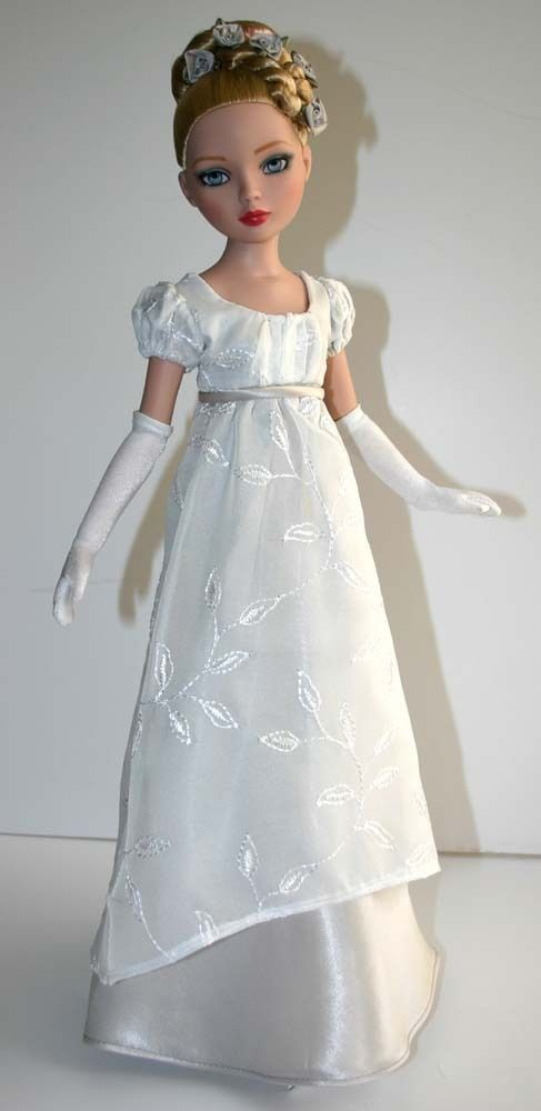 Regency Dress Pattern for Ellowyne Wilde Prudence Moody Tonner   eBay