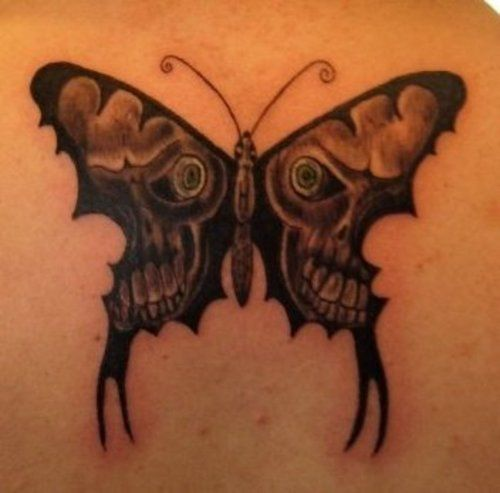 Tattoo By Patrick Cornolo: Butterfly Wings Free Download