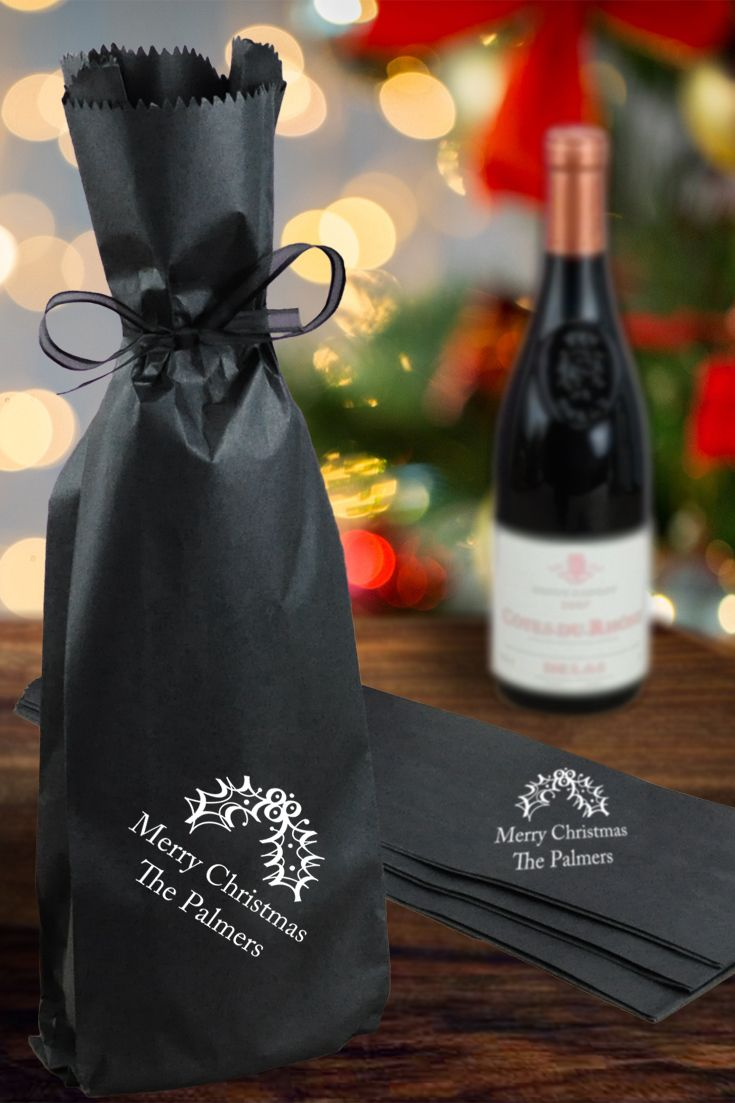 PACK OF 12 Deluxe Wine Gift Bag Spirits Champagne Bottle Birthday Wedding Xmas
