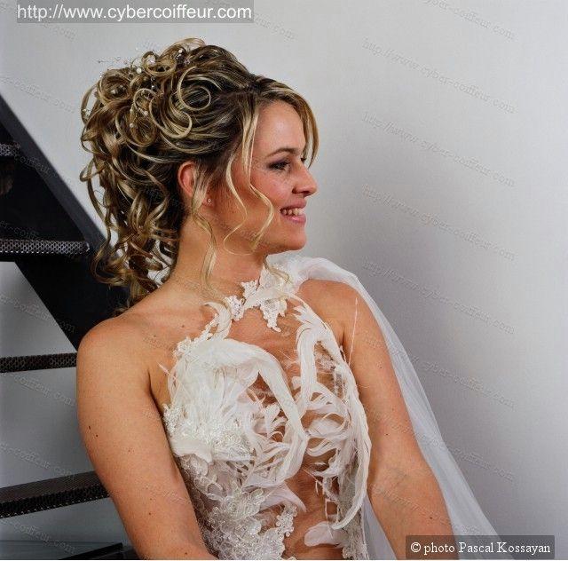 chignon mariée - Recherche Google | Coiffure mariage | Pinterest ...