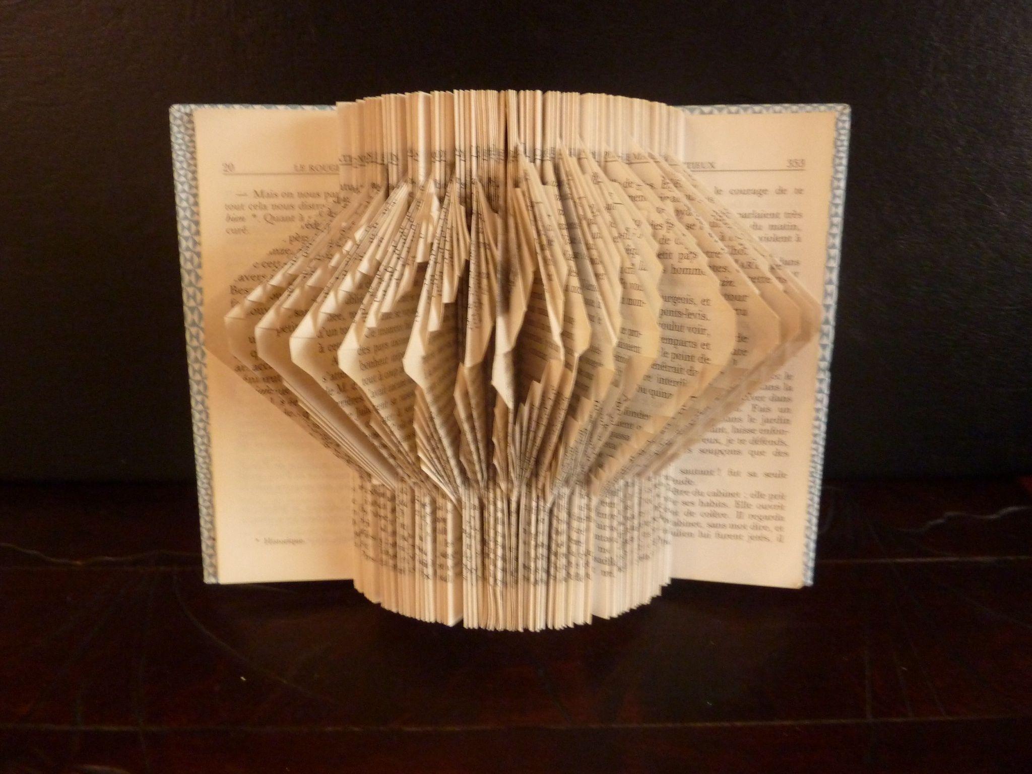 tuto origami livre plie
