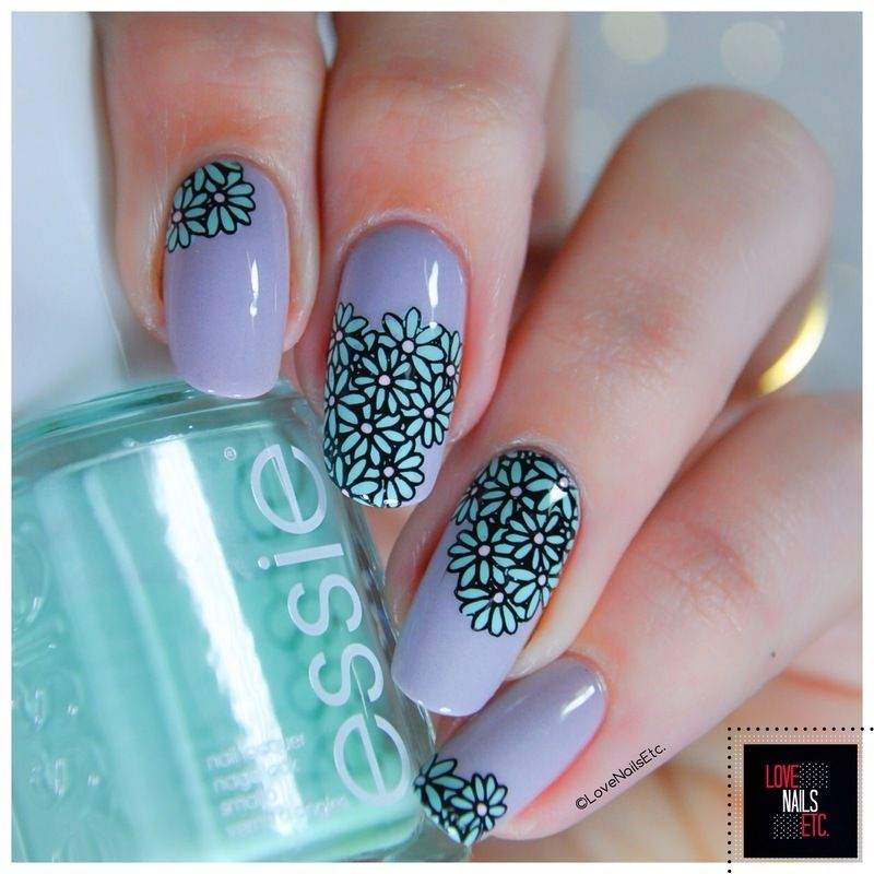 Nailpolis Museum Of Nail Art Winter Flowers By Love Nails Etc