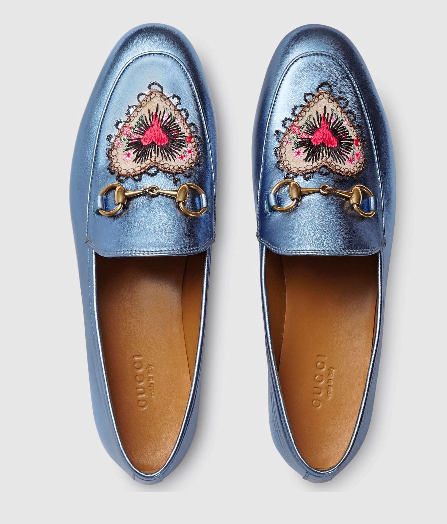 3f689d7eaa76 Something blue babe Metallic Loafers