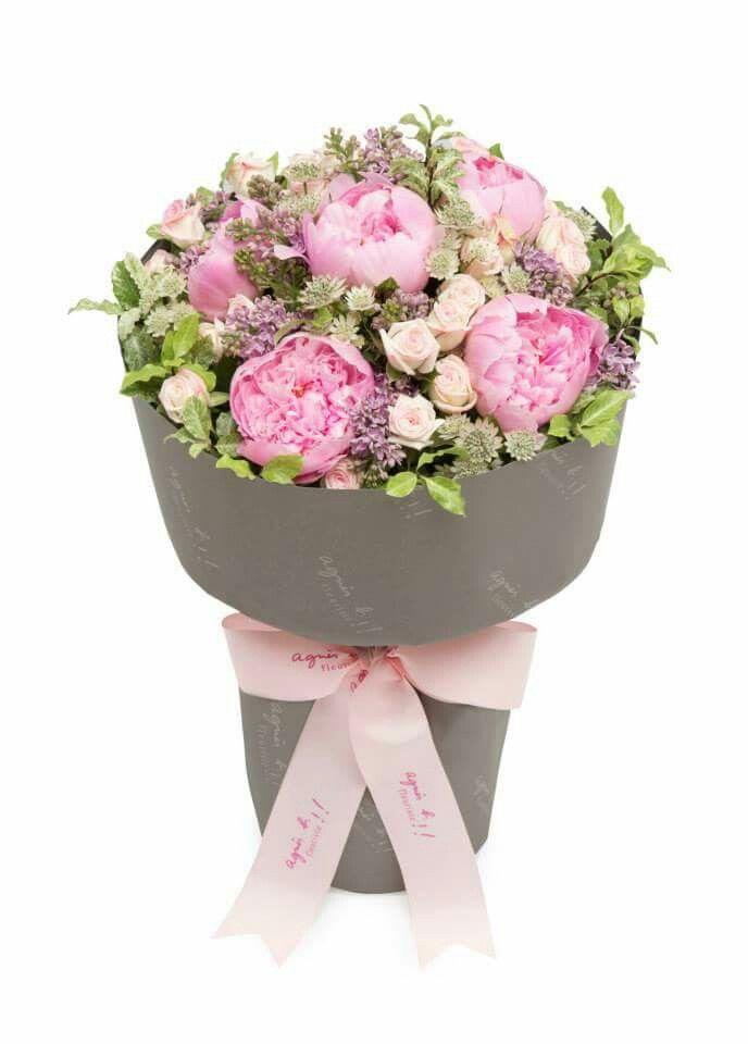 Peony And Mini Rose Flower Arrangements Mini Roses Flowers
