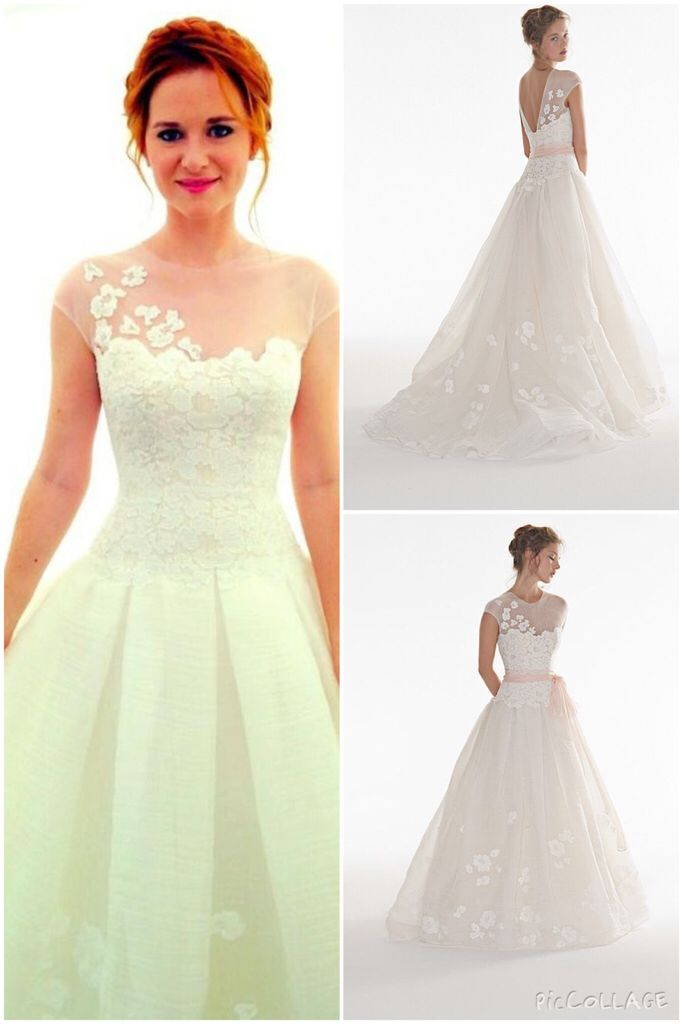 April Kepner\'s Wedding Dress from Grey\'s Anatomy - loooove it but ...