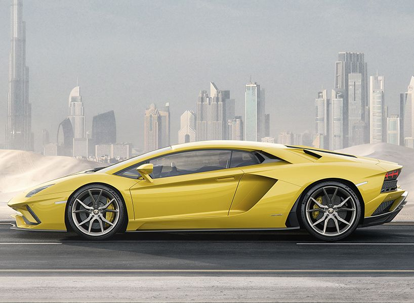 Lamborghini Announces The New U0027aventador Su0027 Featuring A Signature  Aerodynamic Design, Redeveloped Suspension