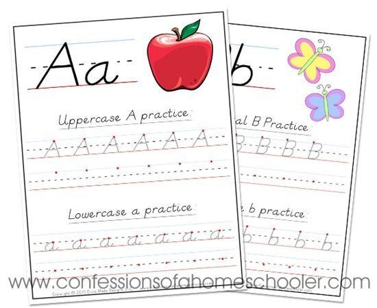 Dnealian Handwriting Worksheets Confessions Of A Homeschooler