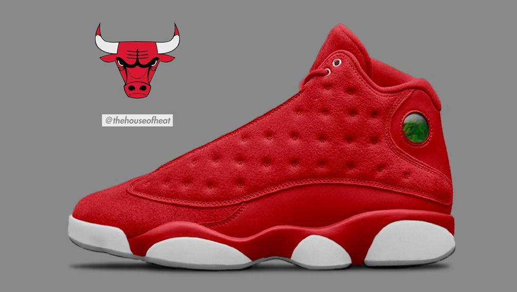 "218fc890b79e68 Today s Concept   Air Jordan 13 ""Toro"""