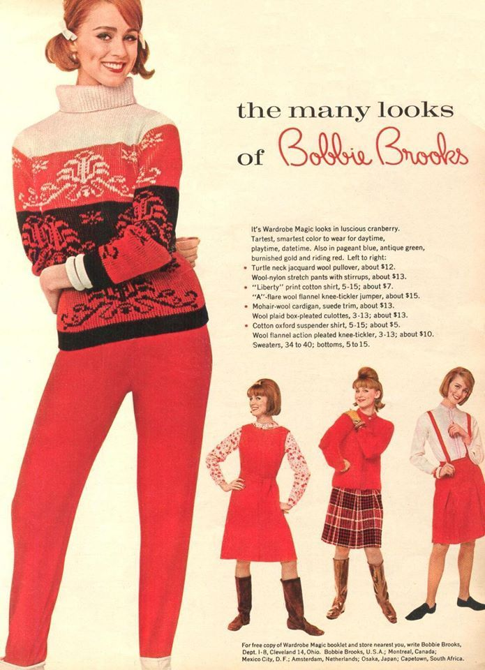 Bobbie Brooks Bobbie Brooks 70s Fashion Fashion 1960s Fashion