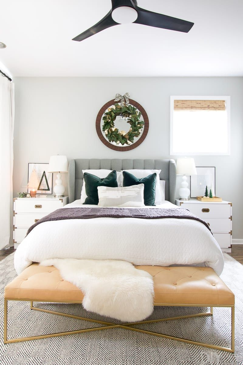 How to Decorate your Bedroom for the Holidays | HOLIDAY ...