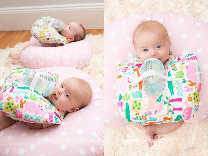 شاه لي مضايقة hands free baby bottle holder