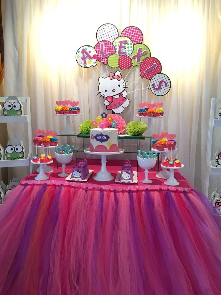 Hello Kitty Birthday Party Ideas Hello kitty birthday party ideas