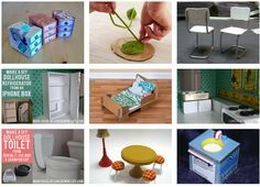 diy dollhouse furniture. DIY Dollhouse Furniture Tutorials Diy O