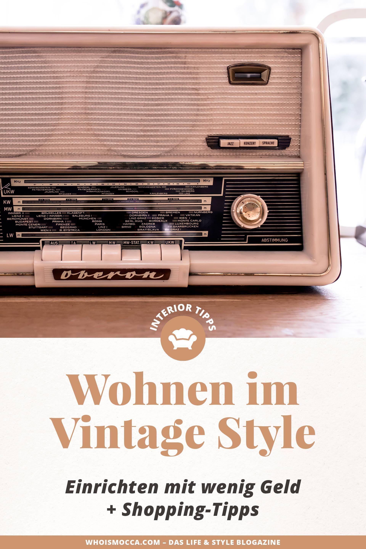 Einrichtungstipps Was Man Beim Vintage Mobel Shopping Beachten