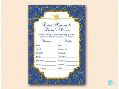 TLC109-finish-mommydaddys-phrase-coed-royal-prince-baby-shower-game