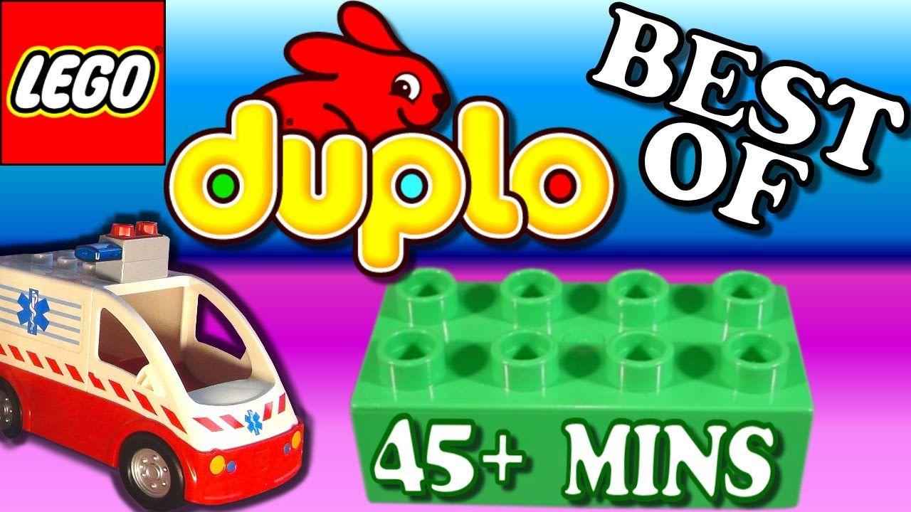 Lego Duplo Best Of Compilation Toys Video For Kids Duplo Ambulance