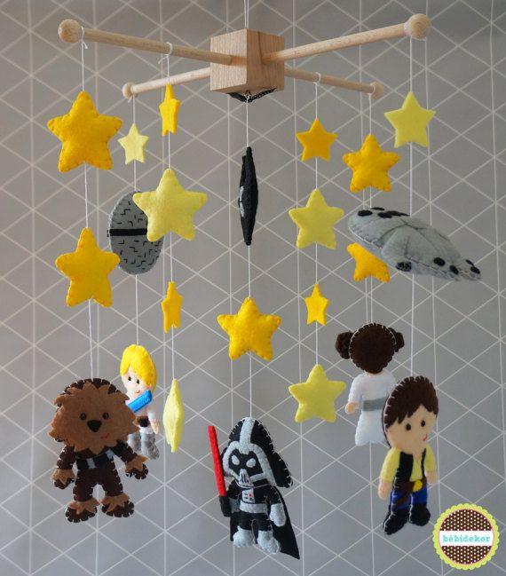 Baby Mobile Star Wars Crib By Bebidekor