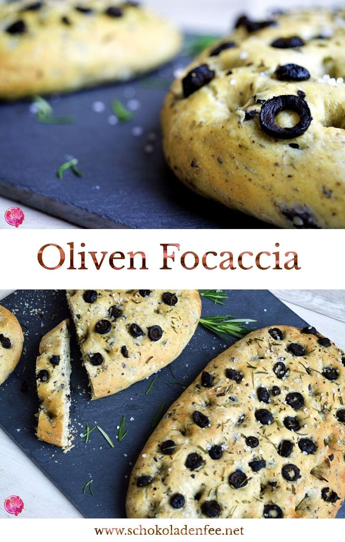 Oliven Focaccia | SchokoladenFee #festmad