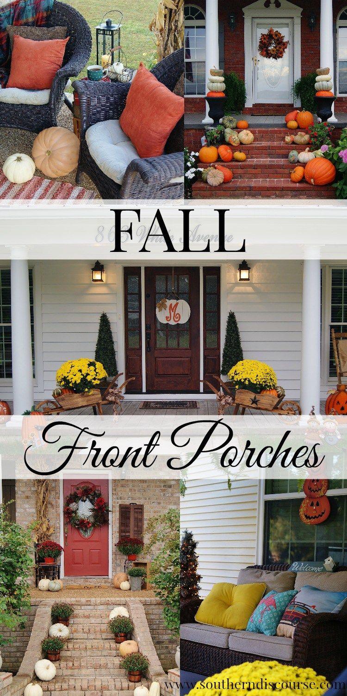 3 season porch window ideas  annual fall porch tour a bundle of porches youull love