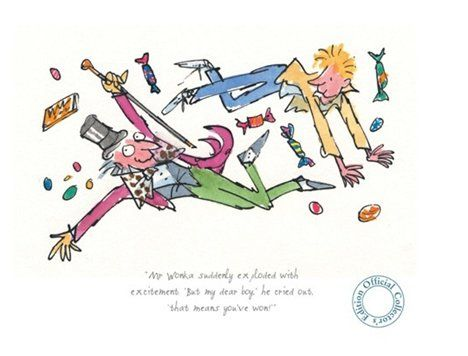 Roald Dahl's Charlie and the Chocolate Factory, illustrated by ...