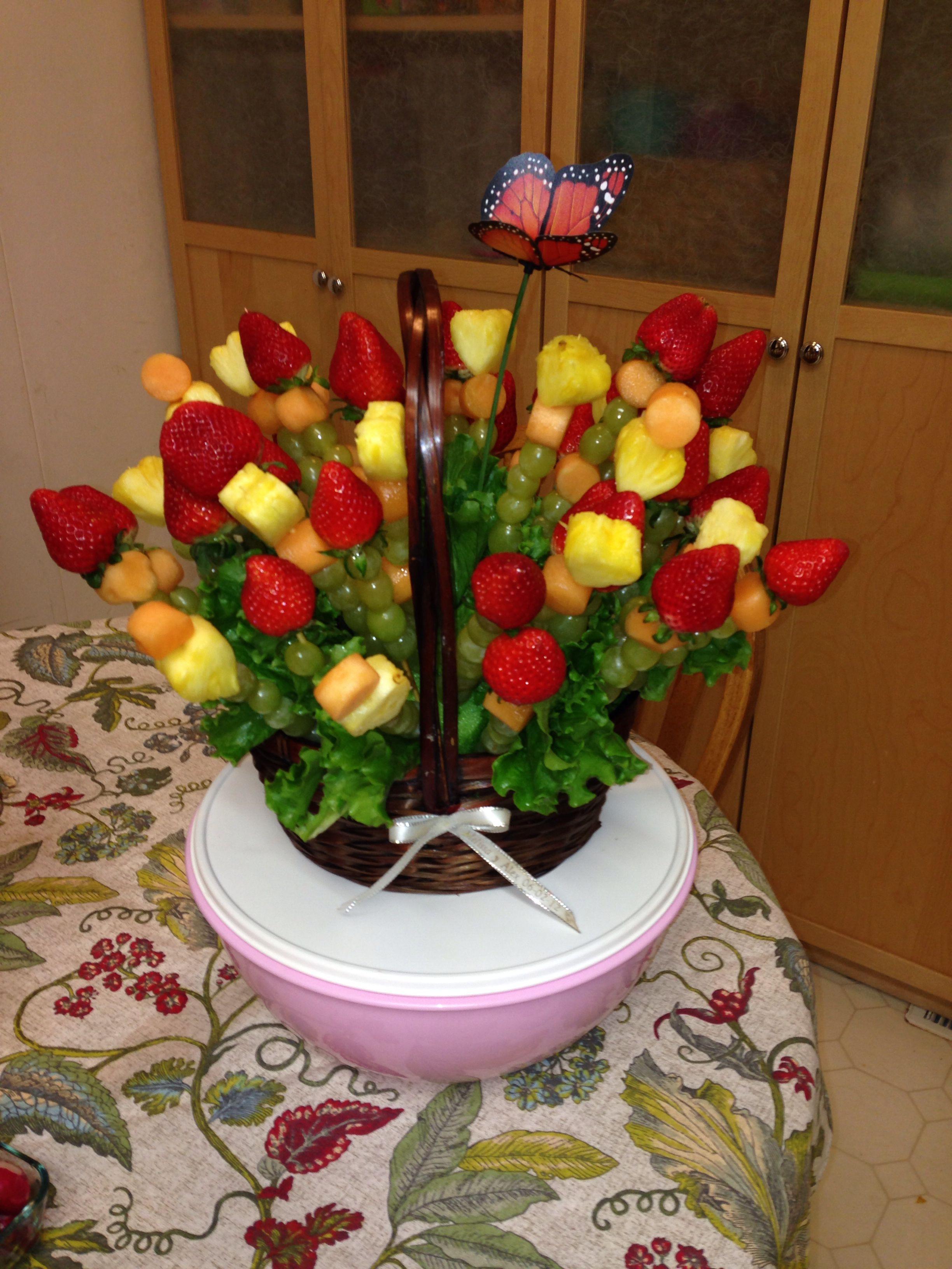 Mi primer arreglo frutal   Mis creaciones ;)   Pinterest   Fruit ...