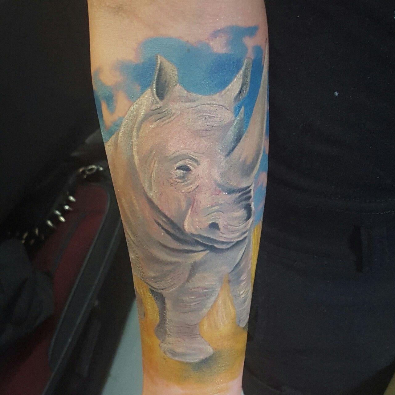 Rinoseronte tattoo