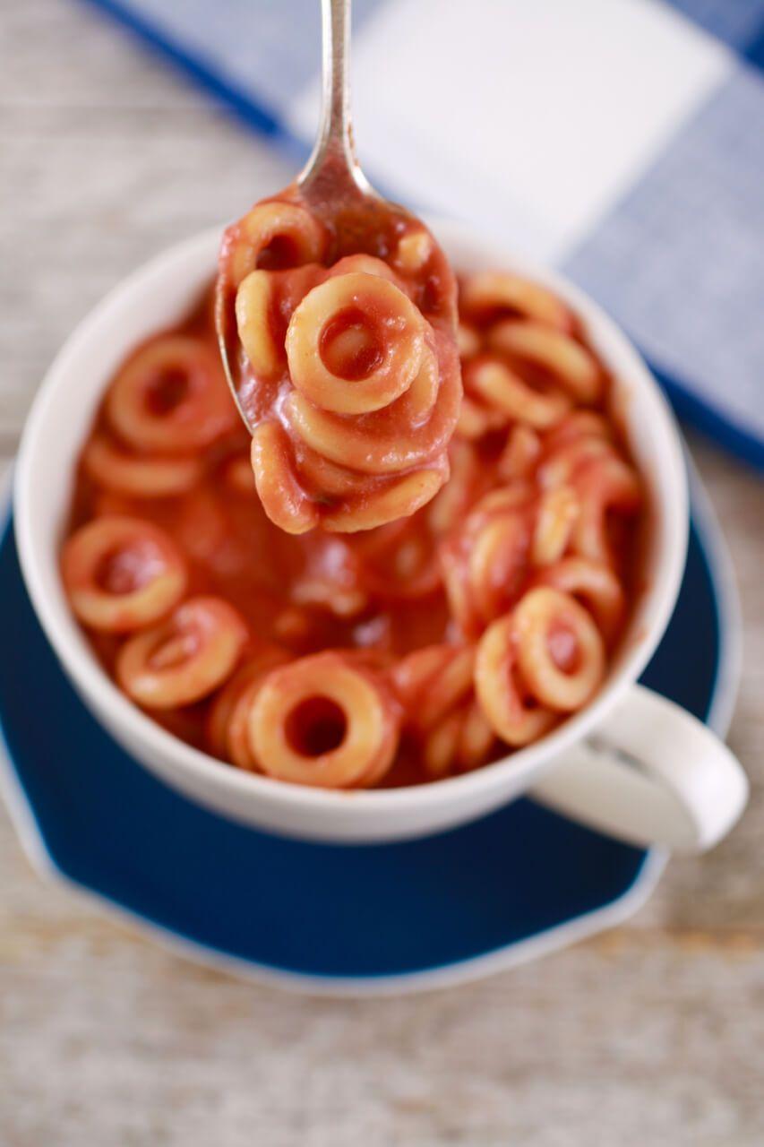 Homemade spaghettios in a mug recipe mug recipes