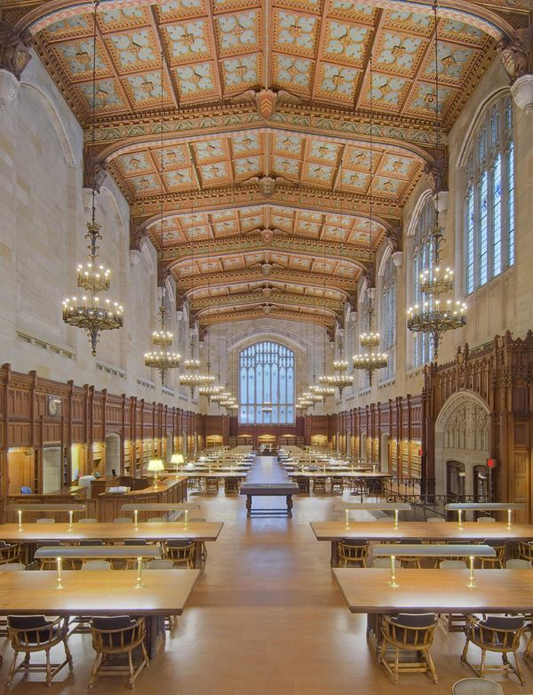 The Ten Most Beautiful School Libraries In The World College Library Beautiful Library University Of Michigan