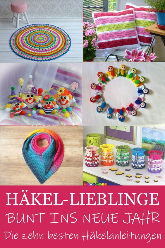 Photo of Häkellieblinge: Bunt ins neue Jahr