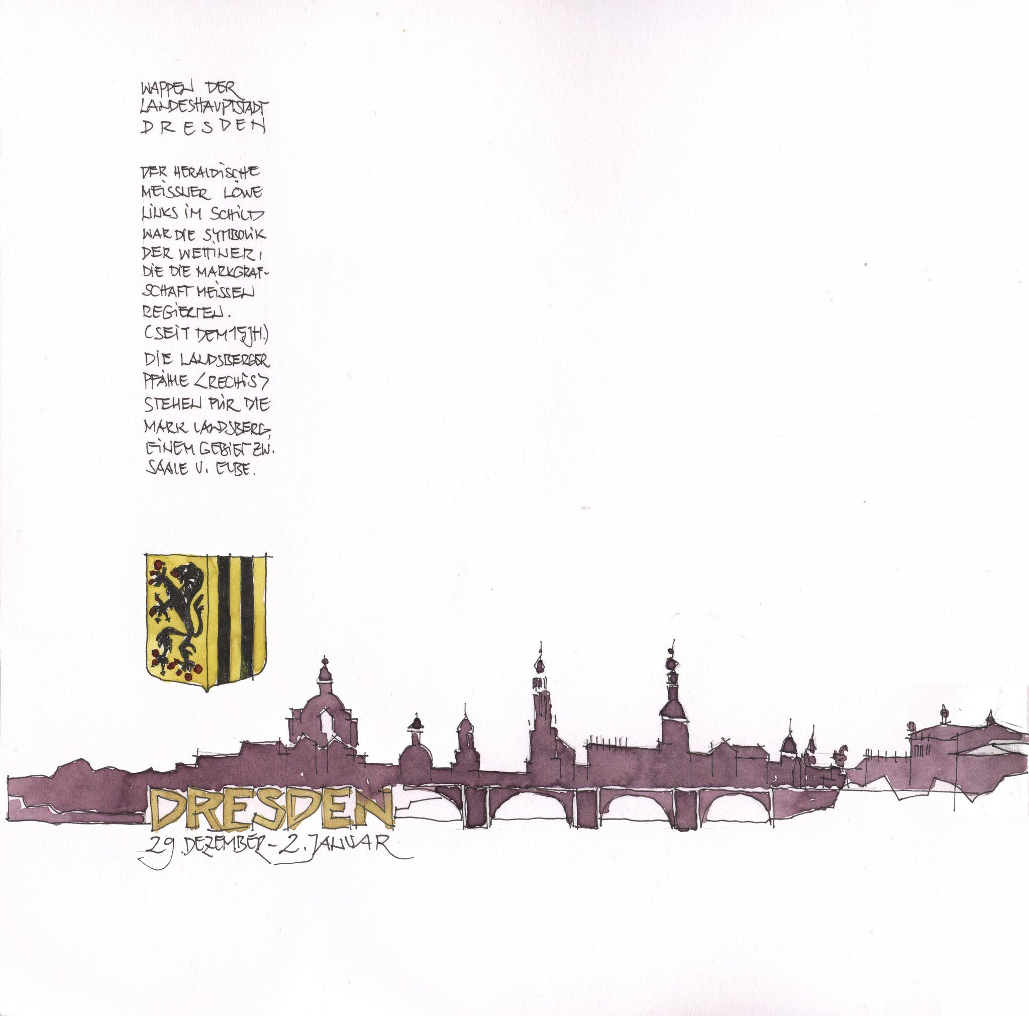 Dresden, Titel, D
