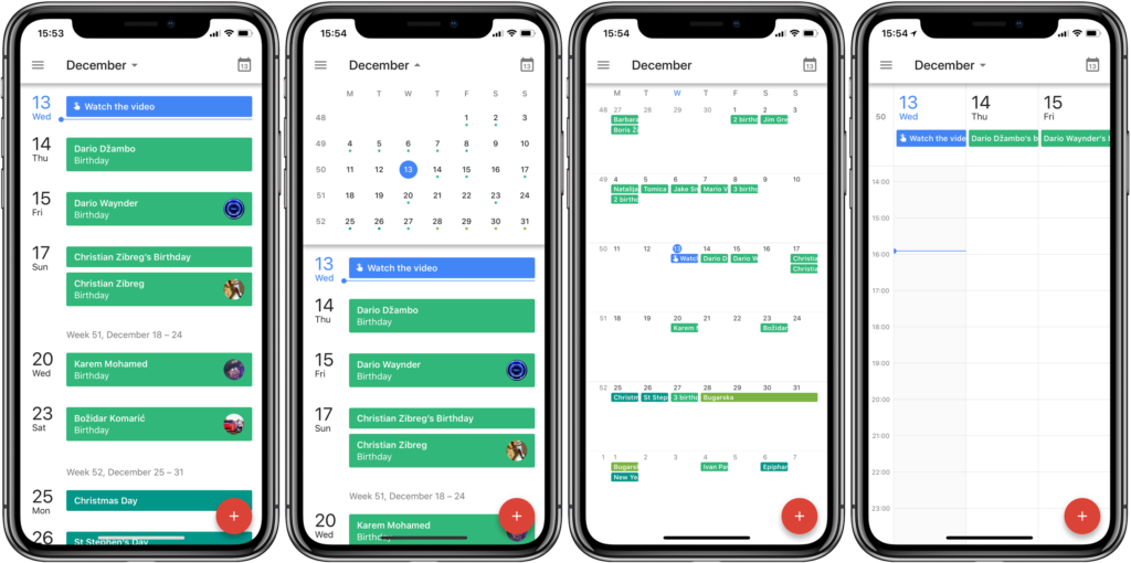 The best calendar apps on the iOS system to organize your