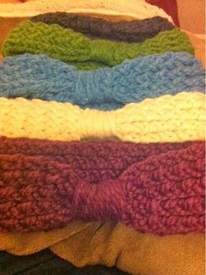 Loom Knit Headband - free pattern (With images) | Loom ...