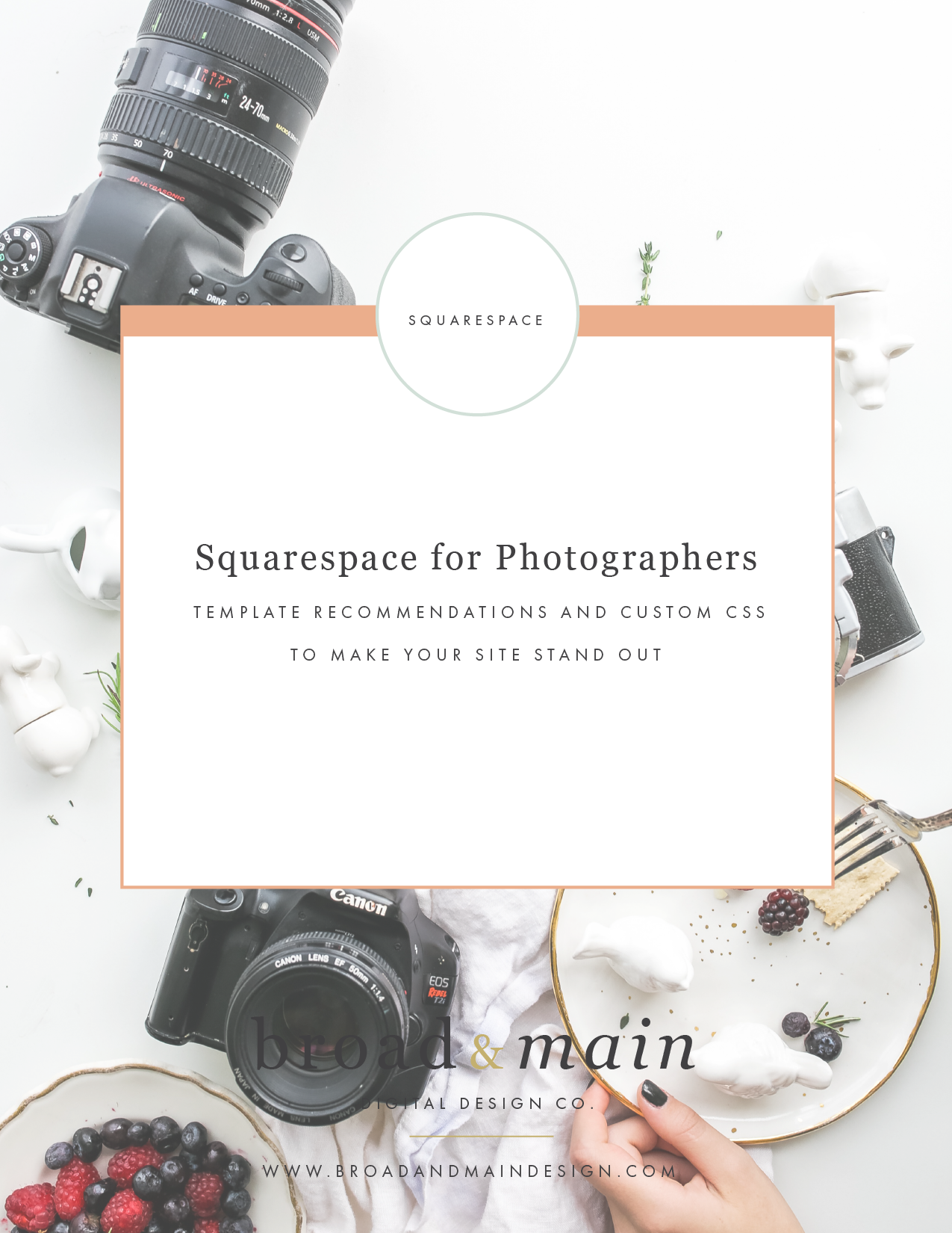 Squarespace for Photographers: Template Recommendations and Custom ...