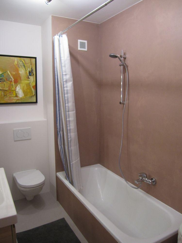 Sanierung eines Badezimmers   Badezimmer, Marmorputz und ...