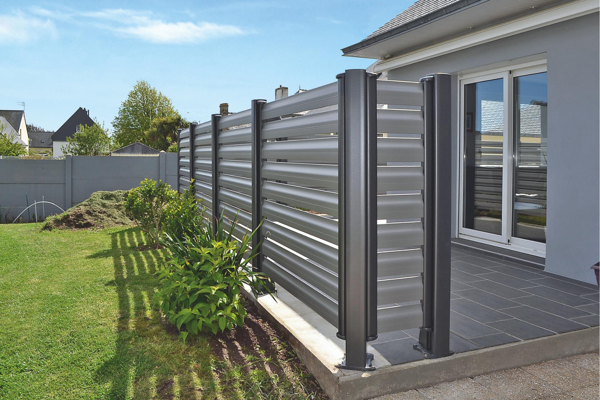 Claustra Aluminium Terrasse Cetal En 2020 Decoration Exterieur Brise Vue Terrasse