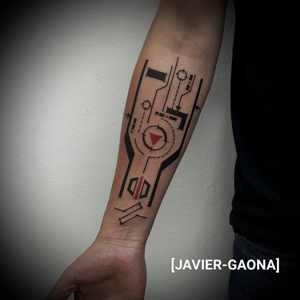 Tatuaje en infierno por javier gaona for Georgie williams tattoo