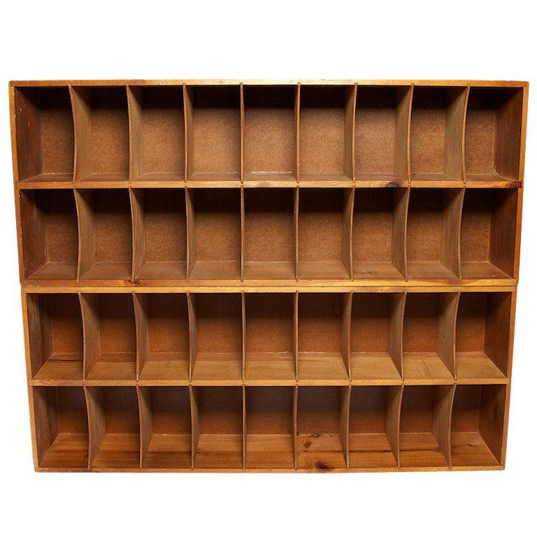 Factory Mail Slot Cabinet | Estanterías, Muebles y Almacenamiento
