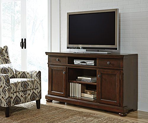 Signature Design By Ashley Furniture Porter 62 Tv Stand In Brown