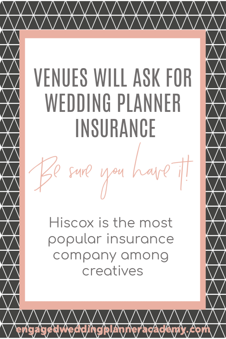 One of the necessary parts of a wedding planner