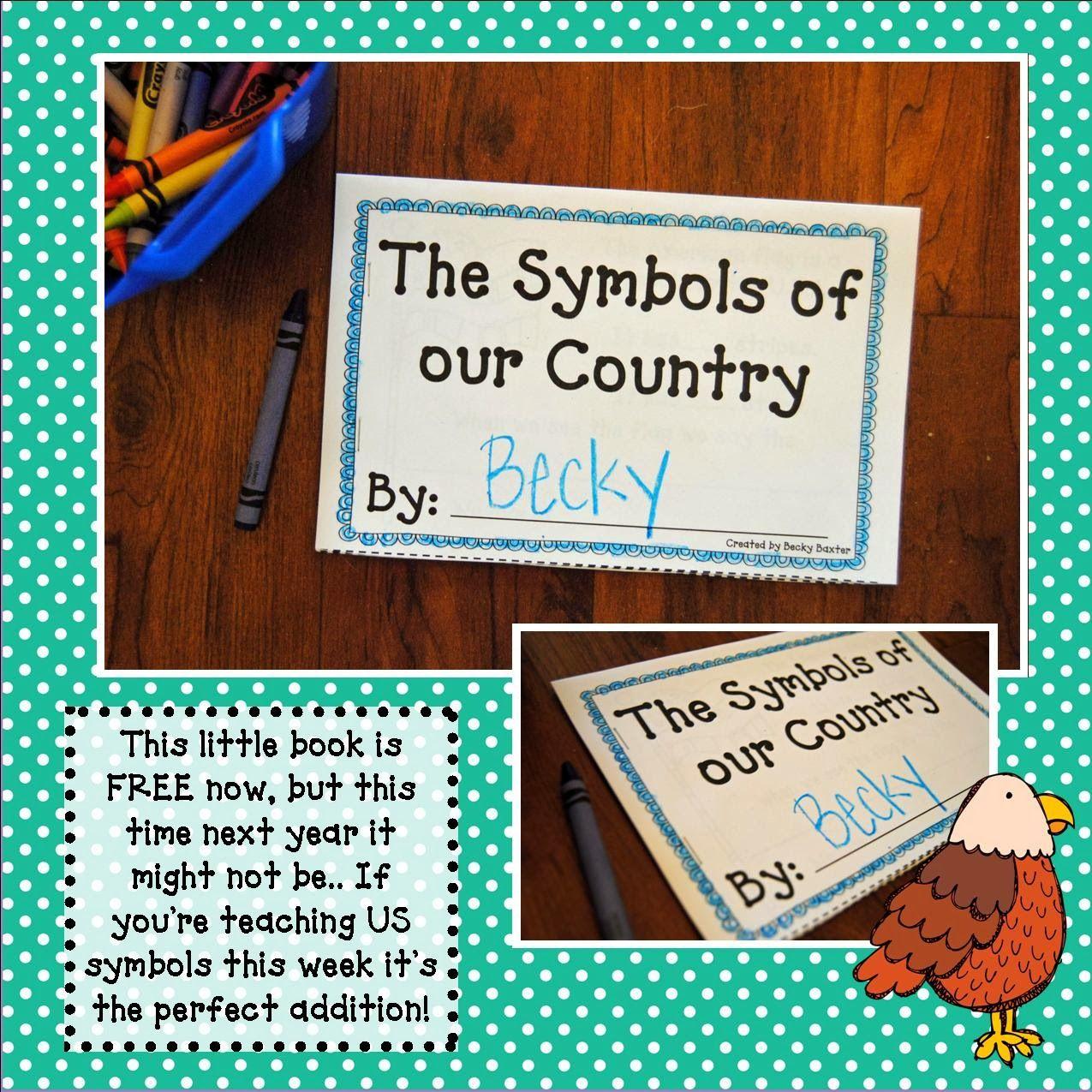 Free Mini Student Book On Us Symbols