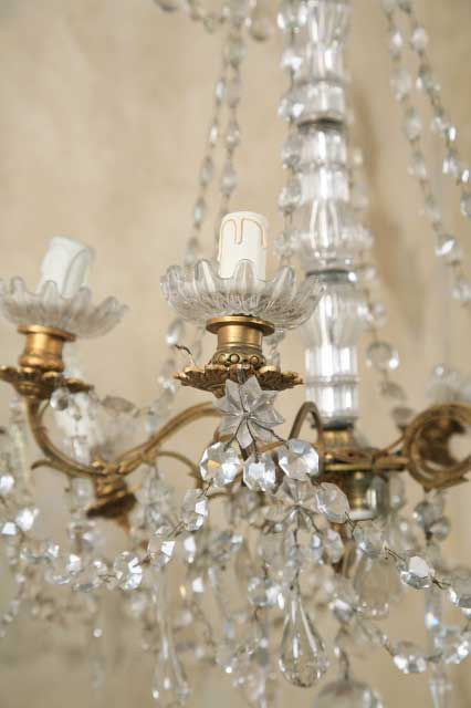 Vintage French Chandelier Mirrors And Chandeliers Beautiful