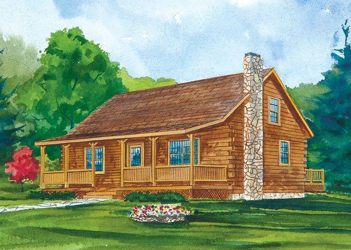 2 bedroom log homes