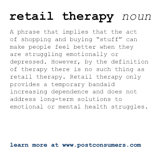 81d5bf8ec31ebf2b34eaa58a696e42b3 if you're trying to remove stress with retailtherapy, be warned