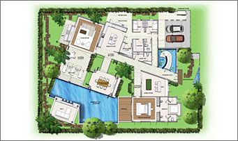 Saisawan Phuket Thailand Floor Plans Floor Plans Pool House Plans Ground Floor Plan
