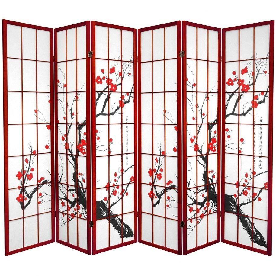 Bamboo blossom room divider panel room divider divider and room