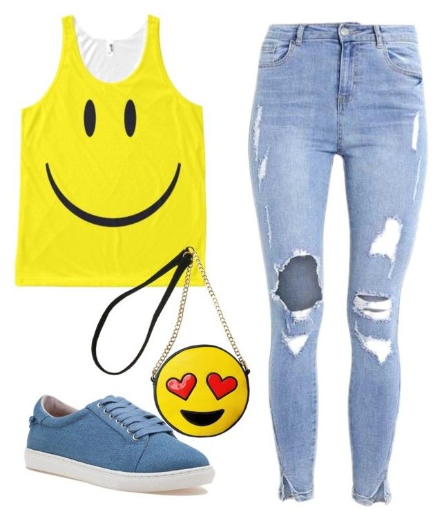 emoji by armin i liked on polyvore featuring j slides and olivia