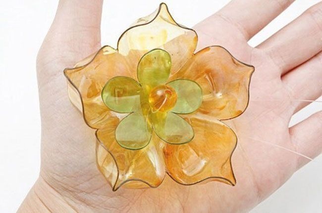 arte de la flor de plástico 18